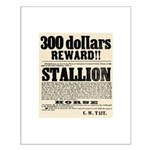Reward Horse Thief Small Poster