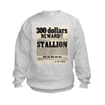 Reward Horse Thief Kids Sweatshirt