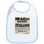 Reward Horse Thief Bib
