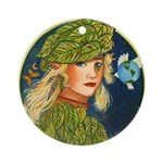 Mother Earth Ornament (Round)
