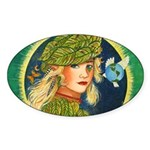 Mother Earth Oval Sticker