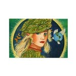 Mother Earth Rectangle Magnet (100 pack)