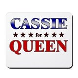 CASSIE for queen Mousepad
