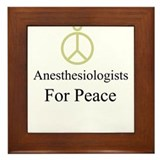 Anesthesiologists Framed Tile