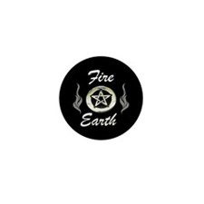 Mini Fire & Earth Button
