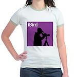 iBird (purple) Jr. Ringer T-Shirt