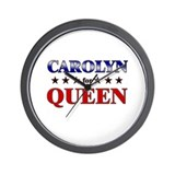 CAROLYN for queen Wall Clock
