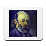 "Faces ""Cezanne"" Mousepad"