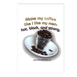Make my Coffee... Postcards (Package of 8)