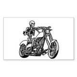 Death Rider II Rectangle Decal