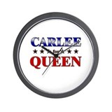 CARLEE for queen Wall Clock