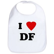 I Love DF Bib