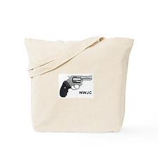 WWJC Revolver Tote Bag
