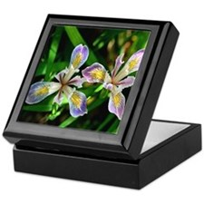 Wild Irisis Art Tile Gift Box.