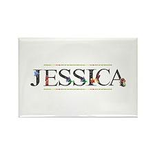 Jessica Rectangle Magnet