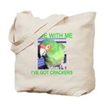 I've Got Crackers Tote Bag