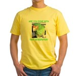 Useful Newspaper Yellow T-Shirt