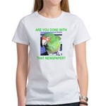 Useful Newspaper Women's T-Shirt