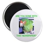 Useful Newspaper Magnet