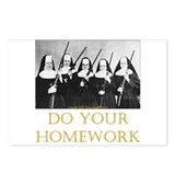 Do Your Homework Postcards (Package of 8)
