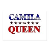 CAMILA for queen Postcards (Package of 8)