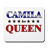 CAMILA for queen Mousepad