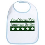 Cousin of American Soldier Bib