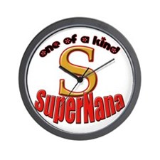 click to view Super Nana Wall Clock