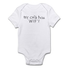 My Crib has WiFi Infant Bodysuit