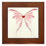 heart wings Framed Tile