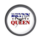BRYNN for queen Wall Clock