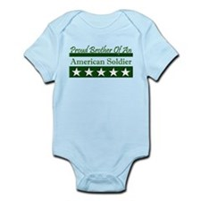 Brother American Soldier Infant Bodysuit