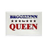 BROOKLYNN for queen Rectangle Magnet
