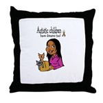 Autistic Kids have dreams too Throw Pillow