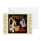 Greek Goddess Melpomene Greeting Cards (Pk of 20)
