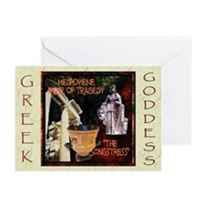 Greek Goddess Melpomene Greeting Cards (Pk of 10)