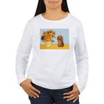Sunflowers - Doxie (LH,S) Women's Long Sleeve T-Sh