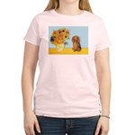 Sunflowers - Doxie (LH,S) Women's Light T-Shirt