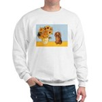 Sunflowers - Doxie (LH,S) Sweatshirt