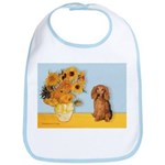 Sunflowers - Doxie (LH,S) Bib