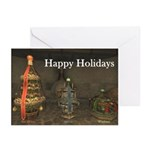 Happy Holidays Tree Greeting Cards (6)