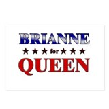 BRIANNE for queen Postcards (Package of 8)