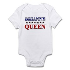 BRIANNE for queen Infant Bodysuit