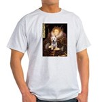 Queen Liz & Her Westie Light T-Shirt