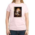 Queen Liz & Her Westie Women's Light T-Shirt