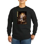Queen Liz & Her Westie Long Sleeve Dark T-Shirt