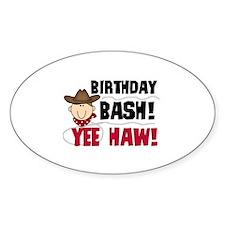 Boys Birthday Bash Decal