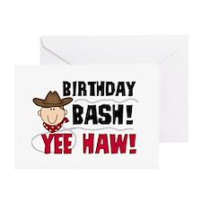 Boys Birthday Bash Greeting Cards (Pk of 20)