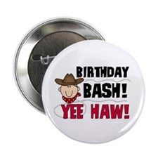 "Boys Birthday Bash 2.25"" Button (100 pack)"