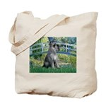 Lily Pond Bridge/Giant Schnau Tote Bag